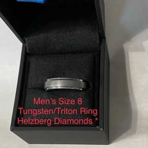 Men's Tungsten Ring from Helzberg Diamonds